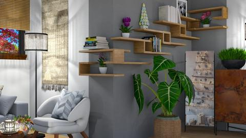 New shelfs 1 - Living room  - by snjeskasmjeska