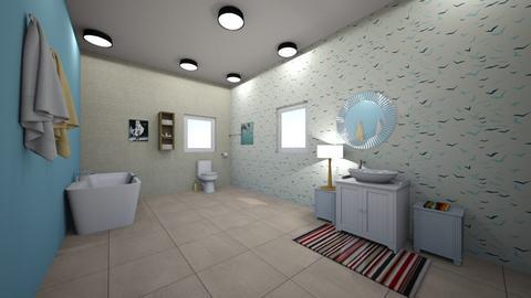 cute bathroom - Bathroom - by 29catsRcool