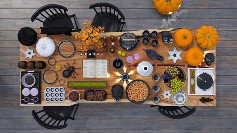 Halloween Baking - Kitchen  - by luna smith
