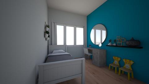 kinderkamer met kaptafel - Kids room  - by marieke199