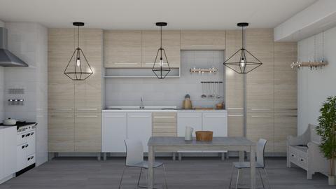 Scandinavian Kitchen - Kitchen - by kelseyleigh3