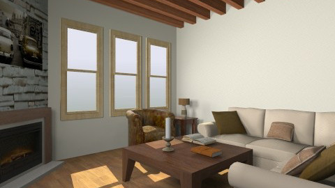 Rustic Living room - Rustic - Living room - by Facundo Hernandez