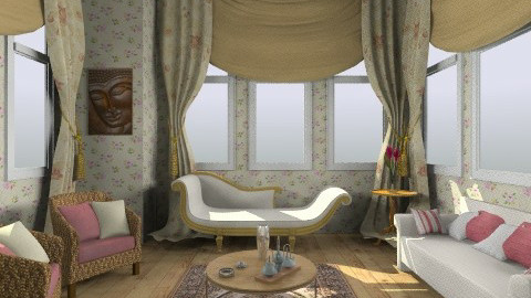 new remix - Classic - Living room  - by wafaabdi