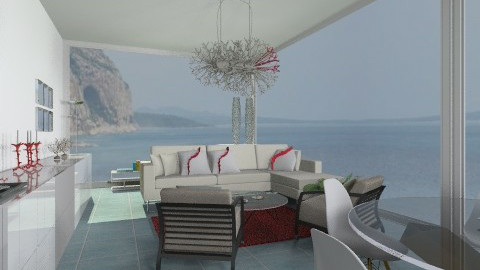 Coral - Eclectic - Living room  - by giulygi