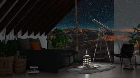 Mountain Serenity - Eclectic - Bedroom  - by millerfam