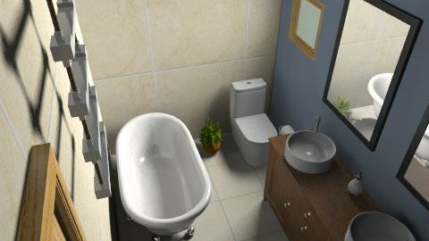sea241 - Minimal - Bathroom - by sea241