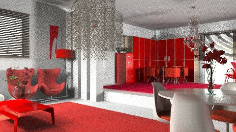 Red's Pride - Modern - Kitchen  - by Your well wisher