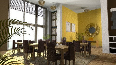 bistro - Glamour - Living room  - by mzabroky