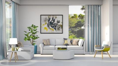 Modern Playful Living - Living room - by HarleyQuinn17