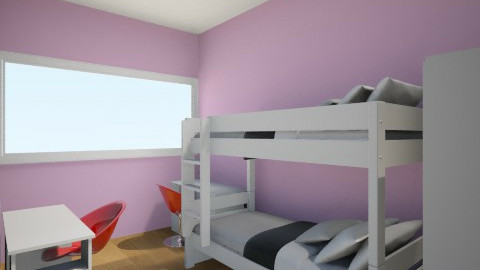 chambre - Bedroom - by fdiane