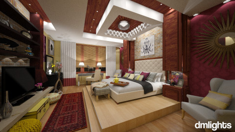 Bedroom - Modern - Bedroom  - by DMLights-user-1025330