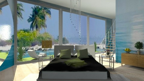The sea view - Modern - Bedroom  - by milyca8