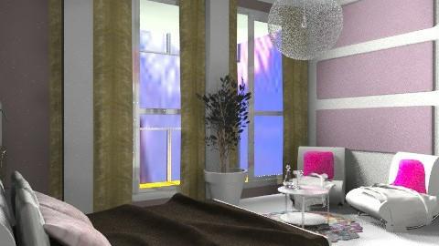halte romance II - Glamour - Bedroom  - by calu13