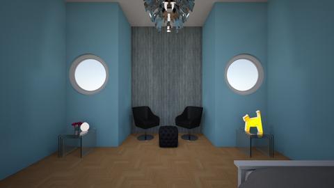 small room big size  - Retro - Bedroom  - by Breanna Hewey
