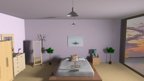 Paradise - Minimal - Bedroom  - by oceanicdesign