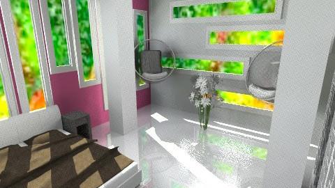 zigZag  - Modern - Bathroom  - by Leigha Kay