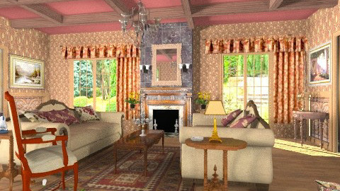 Guests Tea Time - Classic - Living room  - by Bibiche