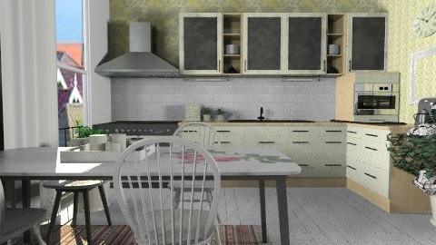 Romantic Ktchn - Eclectic - Kitchen  - by ovchicha