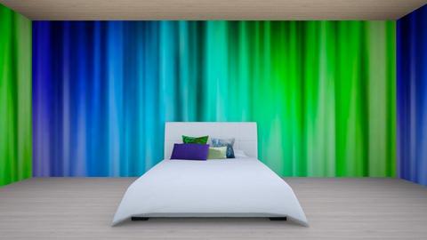 BlueGreen - Bedroom  - by designcat31