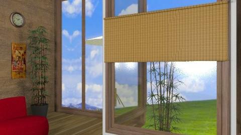 Teien veiw (cajual?) other - Retro - Living room  - by mxdyl