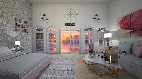 Design 13 MWAH - Glamour - Bedroom  - by M I C H E L L E