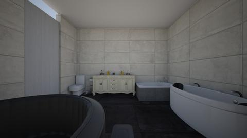 dylans bathroom - Modern - Bathroom - by sliderbily