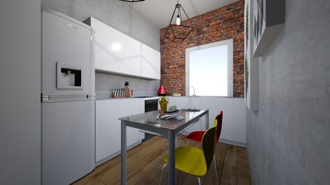 3 - Minimal - Kitchen  - by kinia21