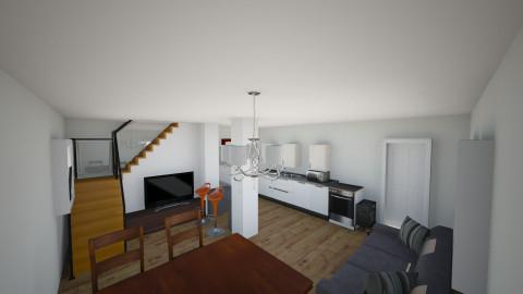 Ülemine korrus - Retro - Living room  - by Indrek
