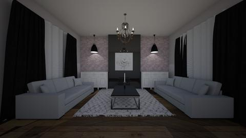 rainy - Living room  - by araschke