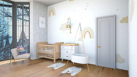 nursery - Minimal - Kids room  - by Happyspaniel