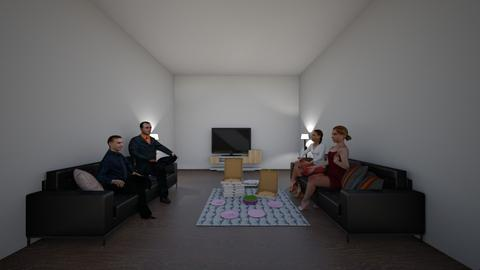 Business Sleepover - Living room  - by 11062010