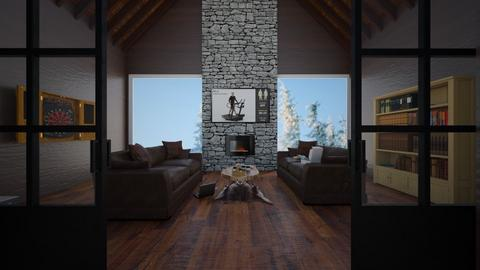 rustic teen hang - Rustic - Living room  - by RhodriSimpson13