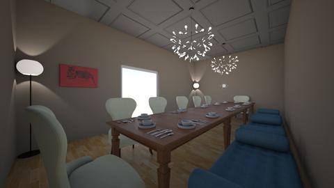 Dining Room_Guest house - Dining room - by Ahmedb