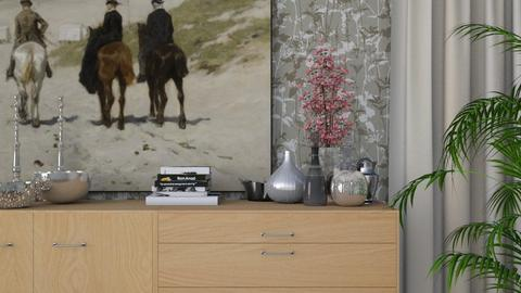 Sideboard Decor - Modern - Living room  - by HenkRetro1960