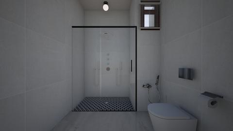 bhk - Bathroom  - by Architectdreams