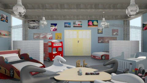 kids room - Living room - by abdelmotalibzaide