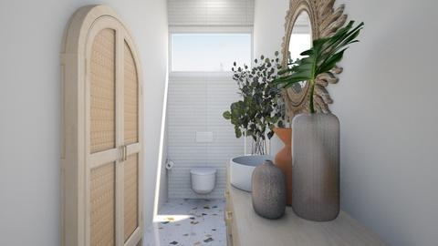 ORGANIC POWDEROOM P7 - Bathroom  - by aestheticXdesigns