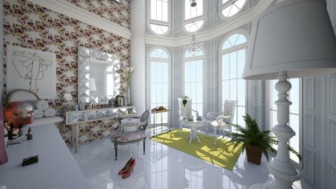 white Parte maquillaje - Classic - Bedroom  - by Jenni Leguiza