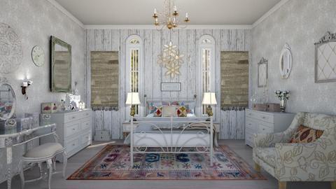 Vintage Bedroom - Vintage - Bedroom  - by Nina Colin