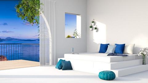 Modern Beach House - Modern - Bedroom  - by CottonFluz