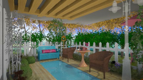 Hot Room - Classic - Garden - by Michelly