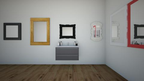 girls dorm bathroom - Glamour - by samtastick