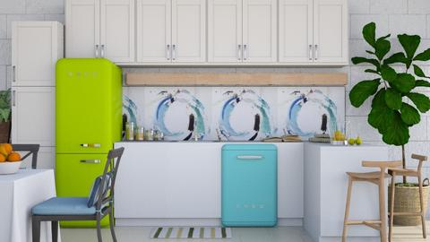 Colorful - Modern - Kitchen  - by millerfam