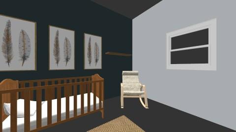 Solomon - Minimal - Kids room  - by tiddlemouise