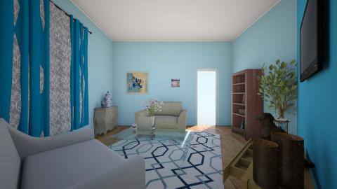 blue - Living room - by sanja1999