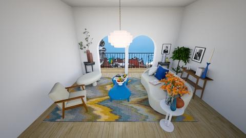 minimalist living room - Living room  - by oriane dfn