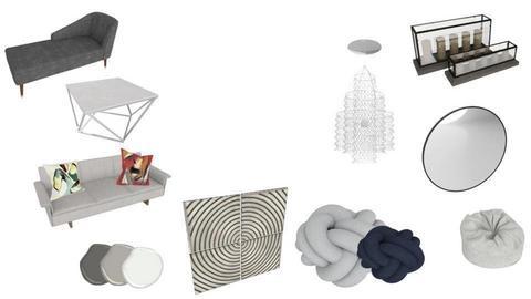 modern style living room - by watsobro