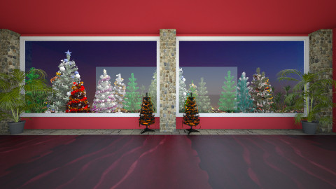 holiday chri - Living room - by abraham samangun