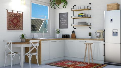 Boho Kitchen - Kitchen  - by lovedsign