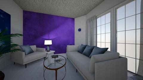 Minimal chromatic  - Modern - Living room  - by Irishrose58